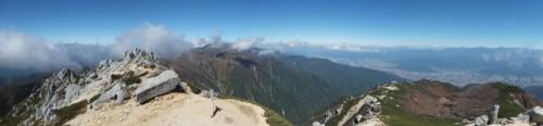 空木岳パノラマ