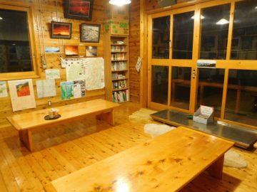 談話室兼の食堂