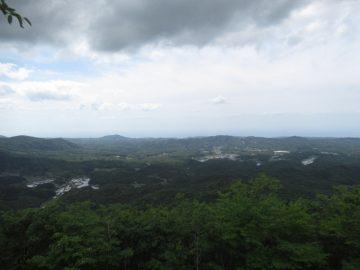 金木山山頂からの景色