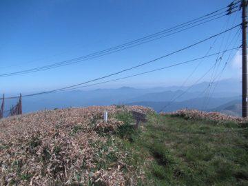 中津明神山山頂