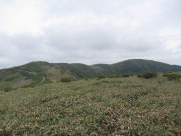 大川嶺から笠取山