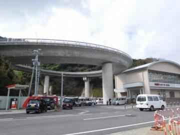 知夫里島のループ橋
