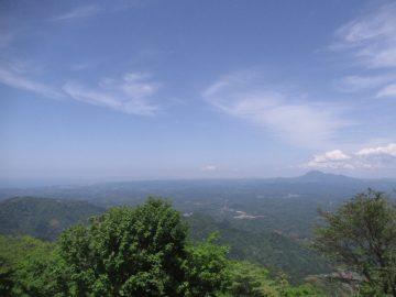 大江高山山頂からの景色