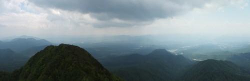 南側の景色