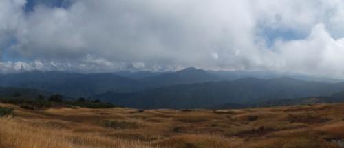 平が岳山頂からの景色