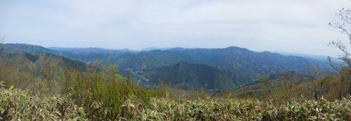 小五郎山山頂からのパノラマ
