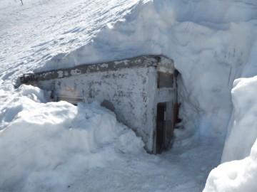 6合目の避難小屋