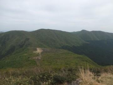比婆山を望む