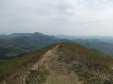 吾妻山登山道