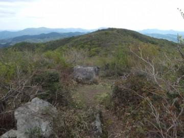 伊良谷山からの景色