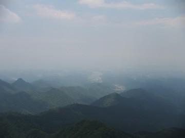 倉吉方面の景色