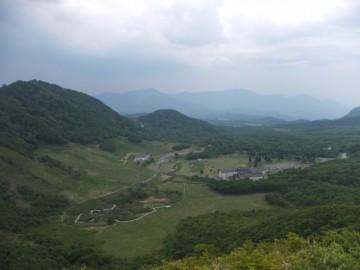象山山頂からの景色