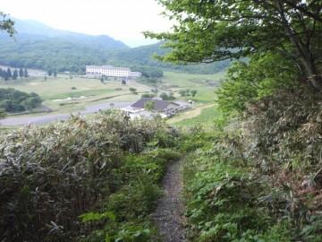 擬宝珠山登山道