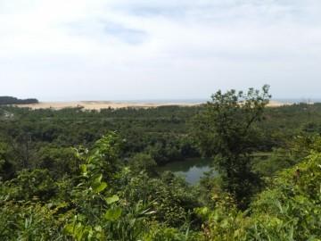 多鯰ヶ池と鳥取砂丘