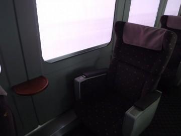 にちりんのグリーン車座席