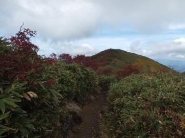 越後駒ケ岳を望む