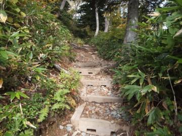 会津駒ケ岳登山道