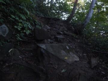 巻機山登山道