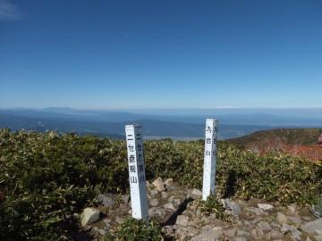 ニセ巻機山山頂