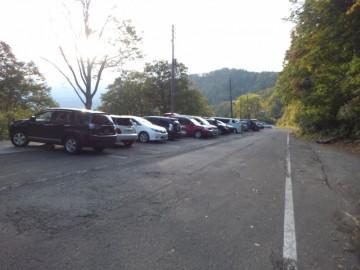 妙高山登山口駐車場