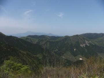 林道からの景色