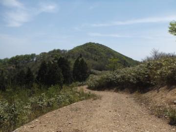 不溜山が見えてきました。