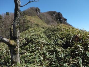 冠山への上り