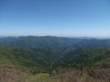 冠山から南側の景色