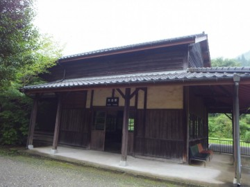 矢岳駅駅舎