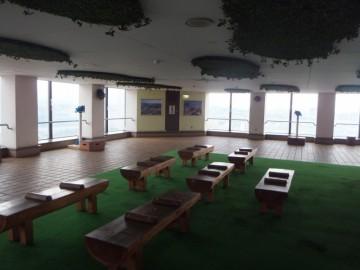 北九州市役所16階展望室