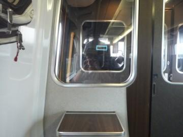 グリーン車1C席からの前面展望