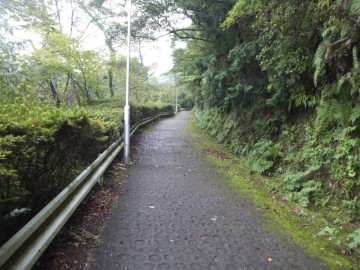 愛宕公園への登山道