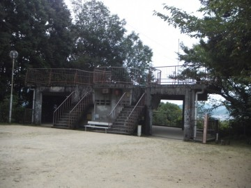 愛宕公園の展望台