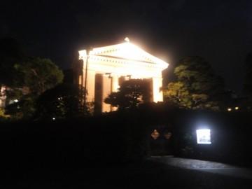 ライトアップされた大原美術館