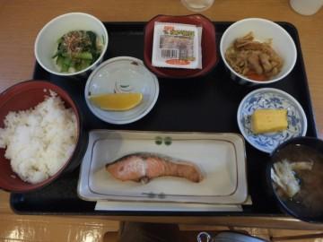 ホテル若松の和食朝食