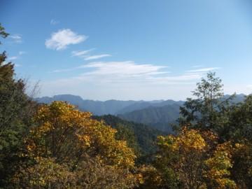 三国峠から埼玉県側の景色