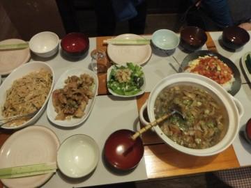 旅物語の夕食