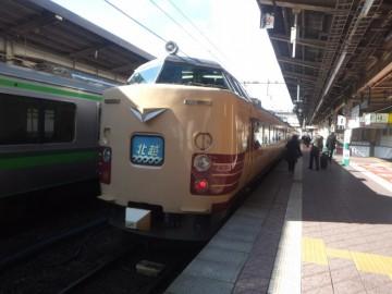 新潟駅の北越