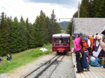 アプト式鉄道の登山列車