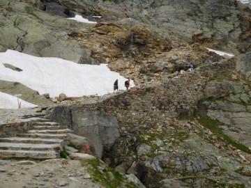 ニデーグルからの最初の登り
