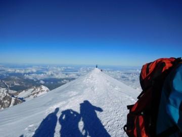 モンブランの山頂