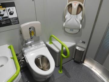 多目的室となっているトイレ