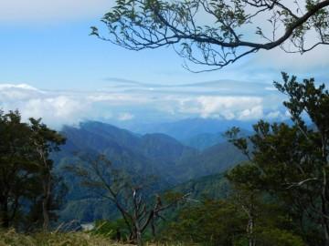 丹沢山頂からの景色