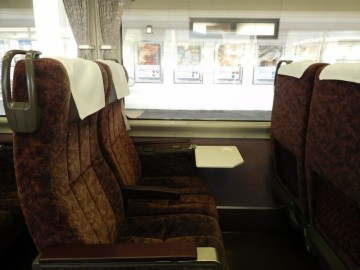自由席の座席