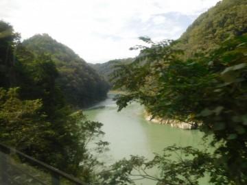 天竜川の美しい眺め