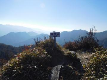 黒笠山山頂
