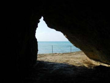 サビチ洞が海に抜ける場所