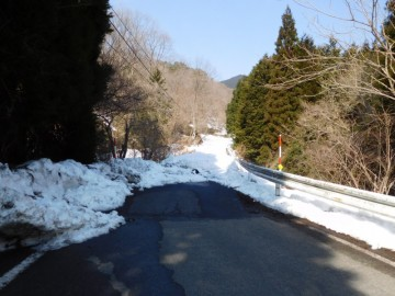 県道56号線の除雪区間終点