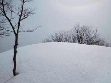 霰ヶ山山頂