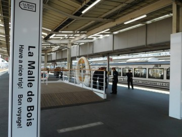 岡山駅の5番ホーム